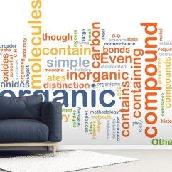 Organic Sofa Uk Milano Leather Compound Word Cloud Wallpaper Mural Wallsauce Room Setting