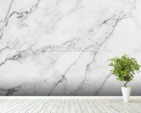 Black and White Marble Wallpaper Wall Mural | Wallsauce UK