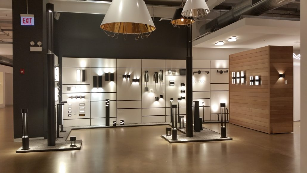 Lighting Showroom Display Fixtures