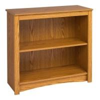 2 Shelf Wood Bookcase Shelf in 3 Laminate Color Espresso ...