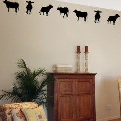 Pictures Of Light Grey Living Rooms Modern Teal Room Cow Border Wall Decals Stickers