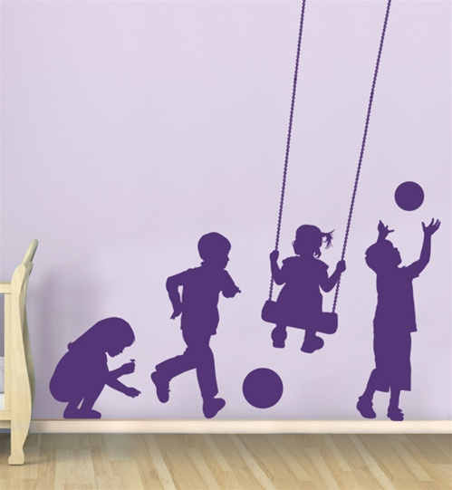 pictures of light grey living rooms oversized room furniture sets kids at play wall decal sticker