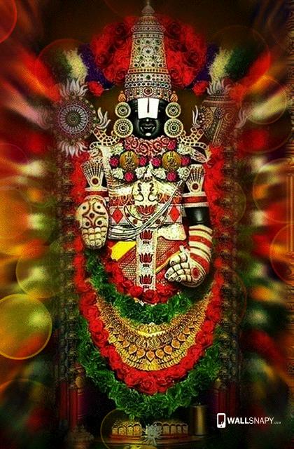 Lord Wallpaper Hd Download Hindu God Venkatachalapathy Hd Wallpaper Lord Balaji