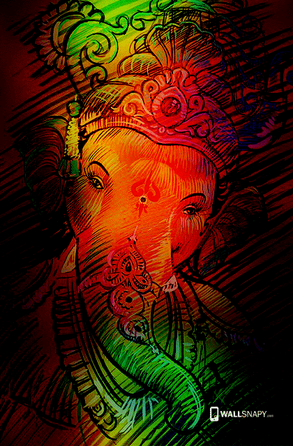 latest ganesha colorful hd