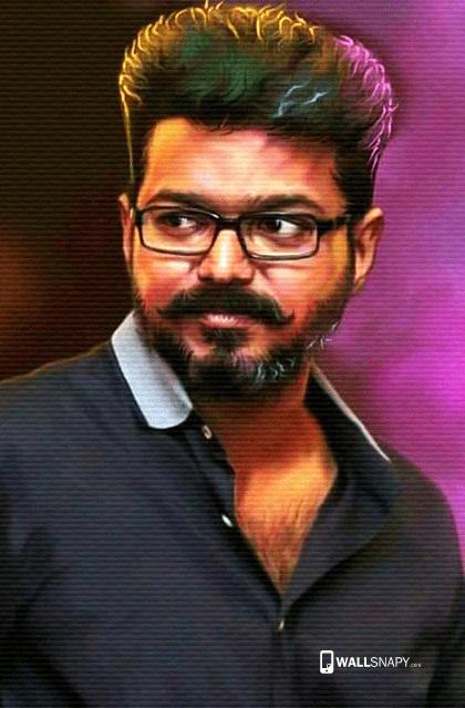 vijay new look hd