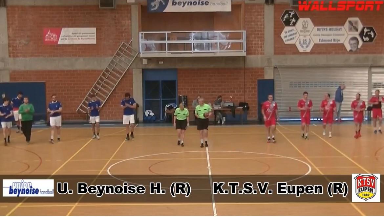 Pr. Liège U. Beynoise H. (R) – K.T.S.V. Eupen (R) 10.10.2020