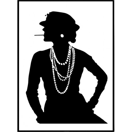 Coco Chanel Poster Find Your Posters At Wallstars Online