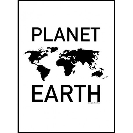 Planet Earth Poster. Find your posters at Wallstars Online