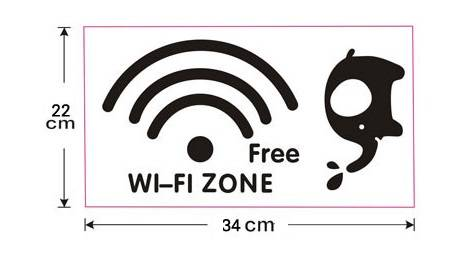 creative free wifi zone