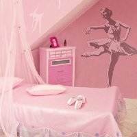 Dance & Ballet Theme Bedroom