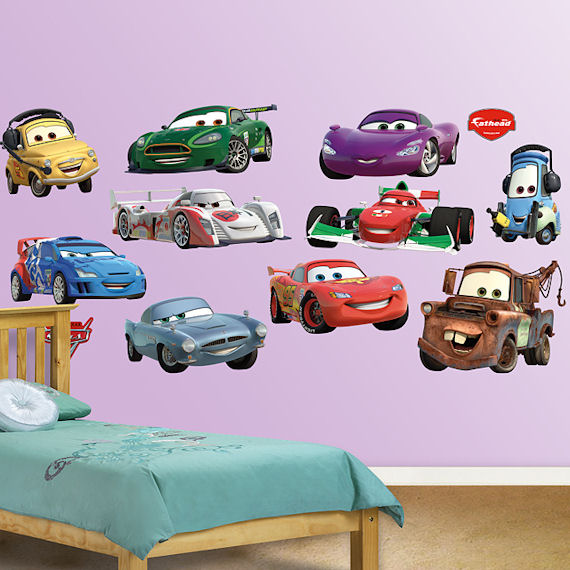 Disney Cars Collection 2 Fathead Wall Sticker