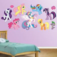 Fathead My LIttle Pony Wall Graphic Collection