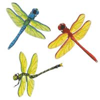 Dragonflies Peel and Stick Wall Decal