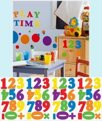 Number Wall Decals