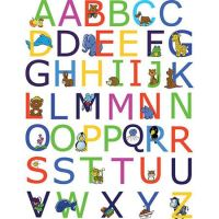 Alphabet Peel and Stick Wall Stickers