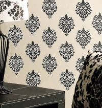 Wallies Beautiful Baroque Vinyl Peel and Stick