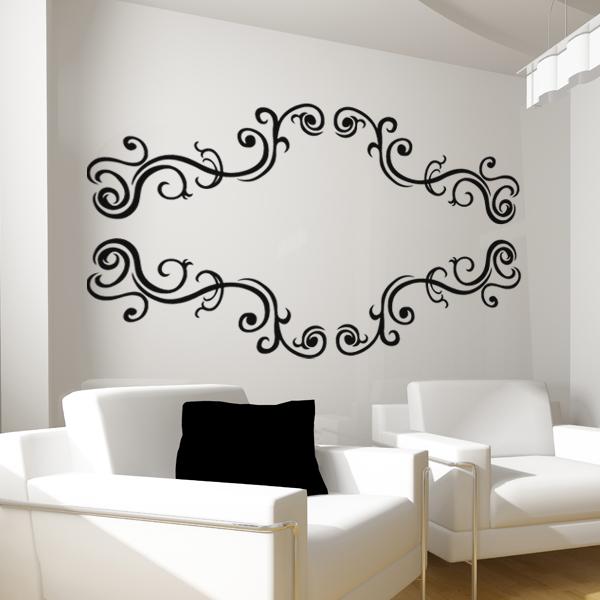Wallstickers folies : Baroque Wall Stickers