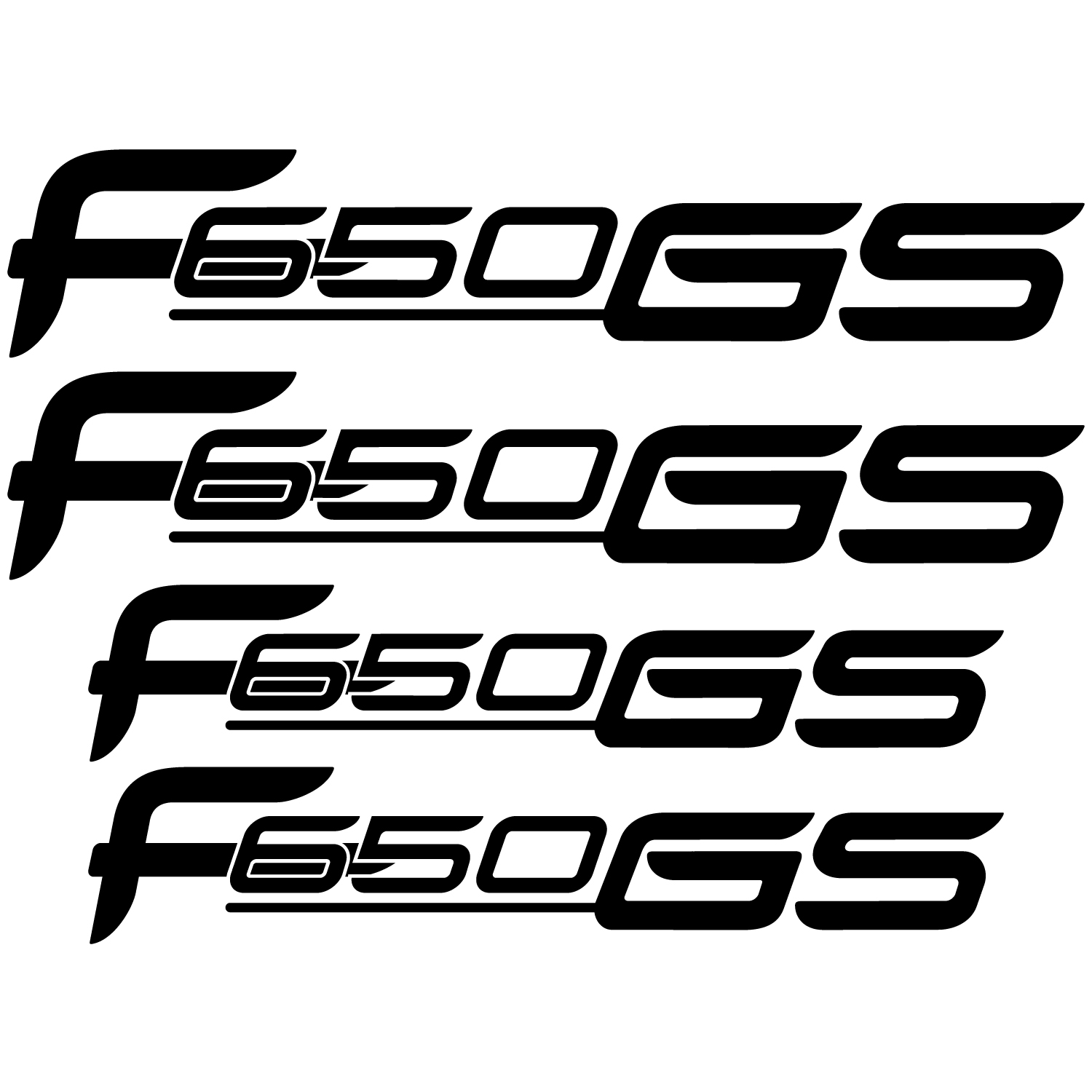 Wallstickers folies : Bmw f 650gs Decal Stickers kit