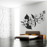 Wallstickers folies : Flower Wall Stickers