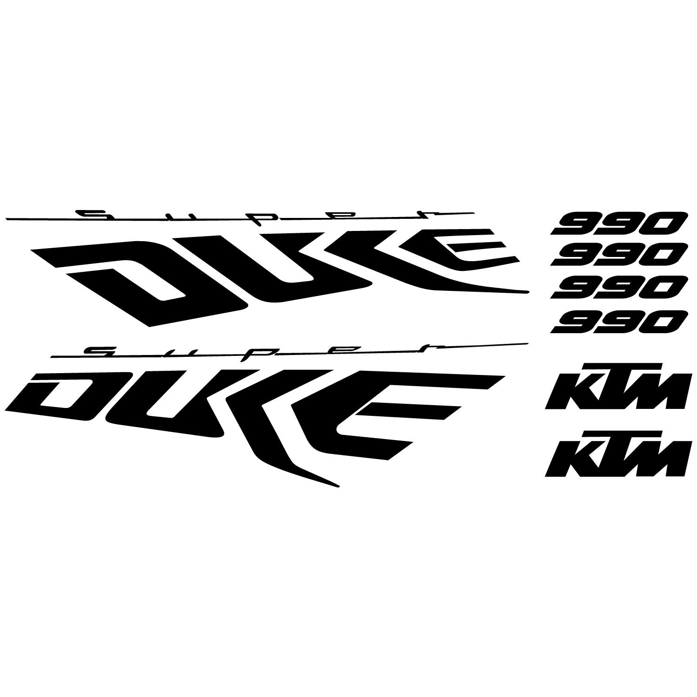 Wallstickers folies : Ktm 990 Super duke Decal Stickers kit