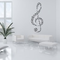 Wallstickers folies : Musical Note Wall Stickers