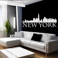 Wallstickers folies : New York Wall Stickers
