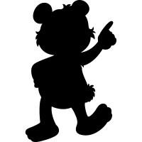 Wallstickers folies : Teddy Bear - Chalkboard / Blackboard ...