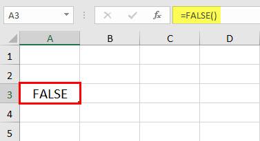 Пример функции FALSE 1-1