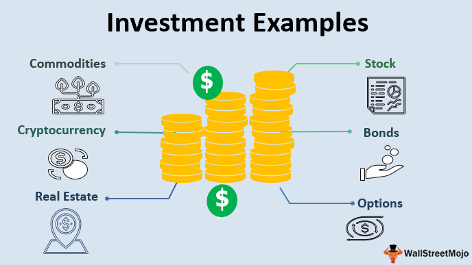Investment Examples   Top 6 Types of Investments with Examples