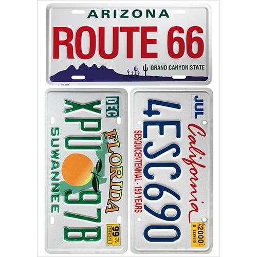stickers autocollants route 66 decoration interieure americaine