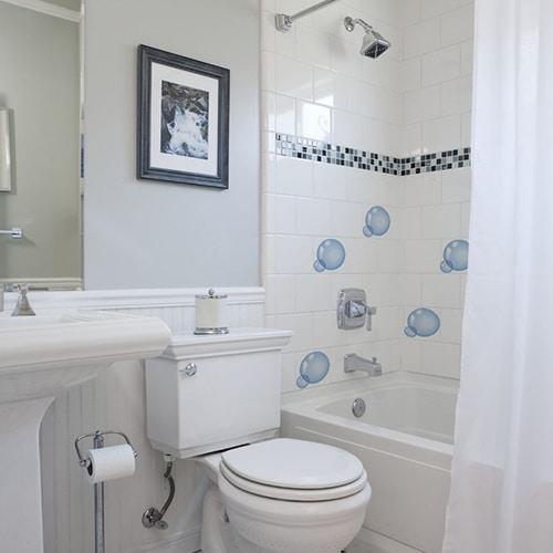 stickers carrelage salle de bain la