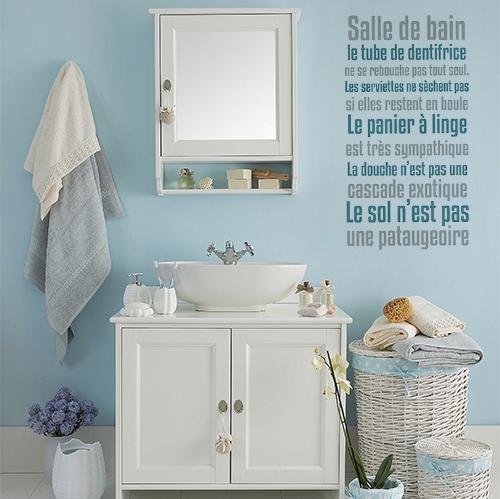 sticker deco d interieur pour salle de bain