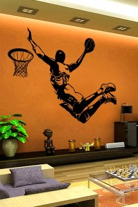 Wall Decals Champion Basketball- WALLTAT.com Art Without ...