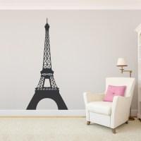 Eiffel Tower Wall Decal | Eiffel Tower Wall Sticker | Wallums