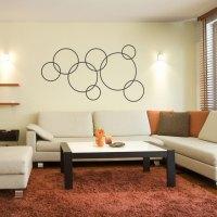 Linked Circles Wall Decal