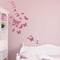 butterfly wall stickers 2017 - Grasscloth Wallpaper