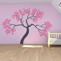 Sakura Cherry Tree Wall Art Decal