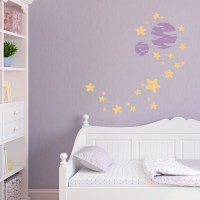 Stars and Planets Wall Decal