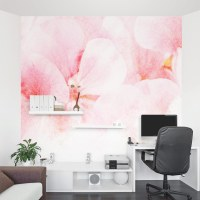 Abstract Floral Wall Mural