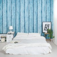 Faux Wood Paneling   Peel and Stick Wood Wallpaper   Wallums