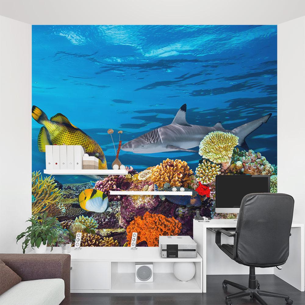 Underwater Sea Life Wall Mural