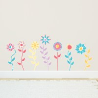 Great Flower Wall Decals - Home Design #916