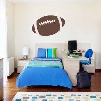 Football Wall Decals - vinyl wall decal sticker football ...