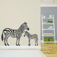 zebra wall decals | Roselawnlutheran