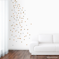 Metallic Wall Decals
