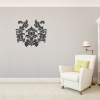 Damask Wall Decal | Victorian Wall Stickers | Wallums
