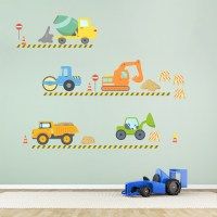 Construction Wall Decals - construction wall decals for ...