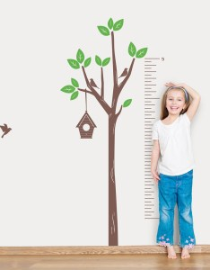 also tree growth chart wall decal wallums rh