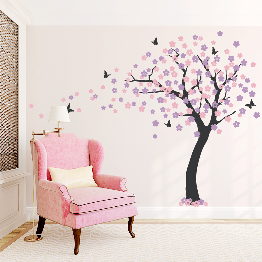 cherry blossom tree wall decal cherry blossom decal