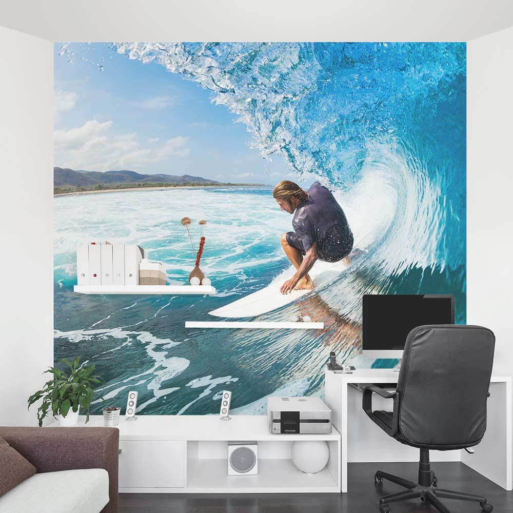 Surfing Wall Mural  Surfing Wall Decal  Wallums